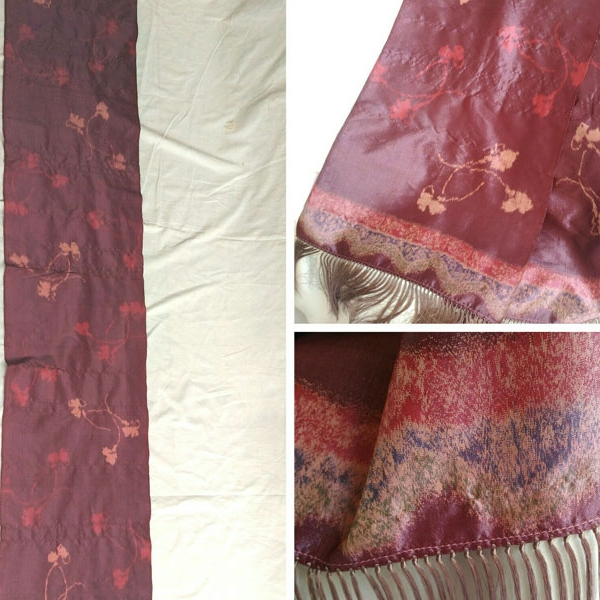Batik Rewoven Long Scarf
